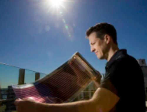 Aussies use printing press to create solar panels