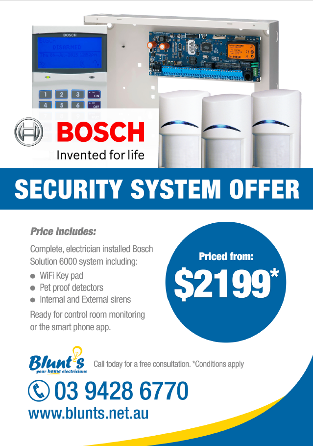 Security System Offer